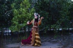 TRADISIONAL suknie obrazy royalty free