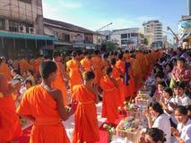 Traditie, de monniken van verdienste Stock Foto