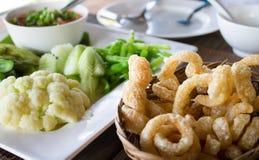 Traditie Noordelijk Thais voedsel Royalty-vrije Stock Foto's