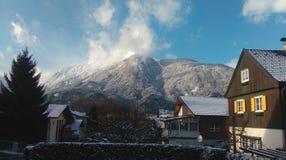 Traditie in Tirol, Oostenrijk stock afbeelding