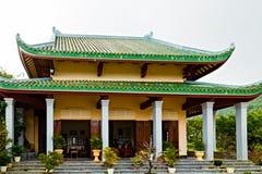 traditie van Boeddhistische Tempel, Da Nang in Vietnam stock foto's