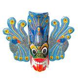 Traditional Sri Lankan mask isolated Stock Photography