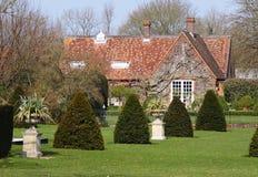 Traditioanl English Single Story house Royalty Free Stock Photo