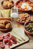 Traditioanl spanish tapas Royalty Free Stock Images