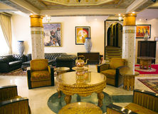 Tradition arabic lobby interior Stock Images