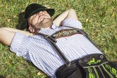 Tradition bavaroise Photo libre de droits