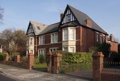 Tradition British housing Royalty Free Stock Photo