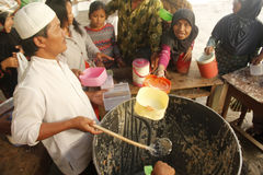 Tradition Bubur Banjar Samin Lizenzfreies Stockfoto