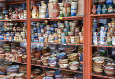 Tradition bulgarian ceramics Royalty Free Stock Photos