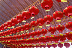 Tradition Chinese new year red lanterns Royalty Free Stock Photography