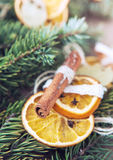 Tradition christmas decoration close up image Royalty Free Stock Image