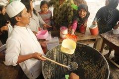 Tradition de Bubur Banjar Samin Photo libre de droits