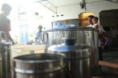 Tradition de Bubur Banjar Samin Photos stock