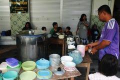 Tradition de Bubur Banjar Samin Images libres de droits
