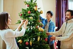 Tradition de Noël photographie stock libre de droits
