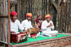 Tradition de Rajasthani images libres de droits