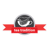 Tradition de thé Images libres de droits