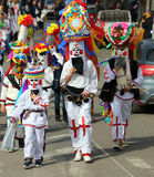 TRADITION EN ROUMANIE - `` FESTIVAL DE COUCOUS `` Images libres de droits