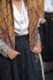 Tradition et gens de la Sardaigne photo libre de droits