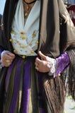 Tradition et gens de la Sardaigne image libre de droits