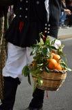 Tradition et gens de la Sardaigne image stock