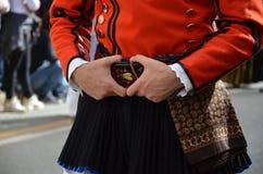 Tradition et gens de la Sardaigne images stock