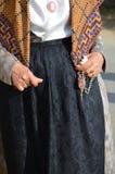 Tradition et gens de la Sardaigne photos stock