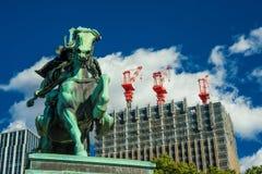Tradition et modernité au Japon Image libre de droits