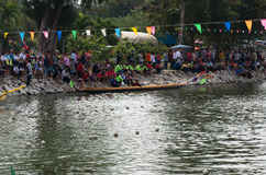 Tradition Festival Long-boat Racing Royalty Free Stock Photography