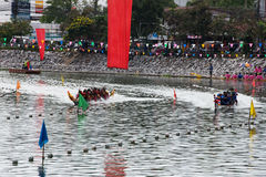 Tradition Festival Long-boat Racing Royalty Free Stock Photo