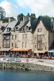 Tradition house in Dinan France Royalty Free Stock Photos