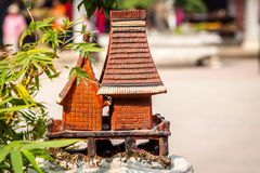Tradition house of Vietnam Stock Photo