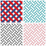 Tradition india weave line vector pattern Stock Photography
