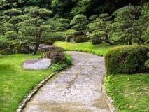 Tradition Japan garden,Zen garden. Tradition Japan garden,Zen garden,Garden decorate Japan style stock photos