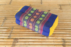 Tradition native Thai style pillow pattern Royalty Free Stock Image