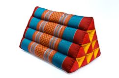 Tradition native Thai style pillow Royalty Free Stock Photo