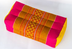 Tradition native Thai style pillow Royalty Free Stock Photography
