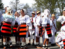 Tradition roumaine Image libre de droits