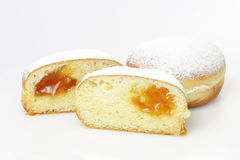 Tradition slovenian doughnuts Stock Photo
