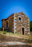 Tradition Stone House. A traditional stone house near Penamacor (Portugal Royalty Free Stock Photography