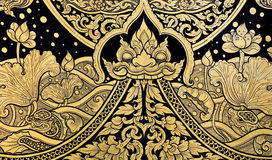 Tradition Thai style painting art Stock Photography