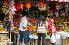 Tradition unique de nouvelle année à Philippines Image libre de droits