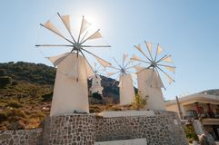Tradition Windmills Royalty Free Stock Photo
