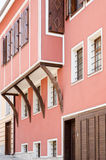 A traditional 19th-century house in the old town of Plovdiv Royalty Free Stock Image