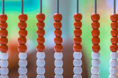 Traditional Abacus as a Metaphor for Education Royalty Free Stock Photos