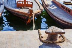 Traditional Abra ferries in Dubai Stock Image