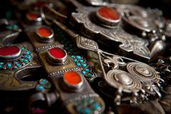Traditional accessory and jewelry Royalty Free Stock Photo
