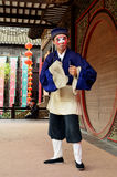 Traditional Actor Performing on Stage, Zhouzhuang, China Stock Image