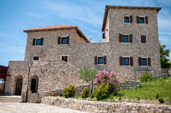 Traditional Adriatic house Stock Photography