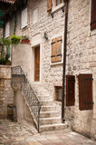 Traditional Adriatic house Stock Image